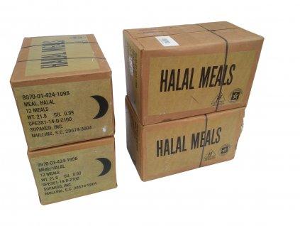 Bojová dávka potravy MRE HALAL Meal Ready to Eat US (BDP, KDP) originál