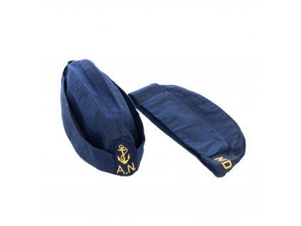 Čepice námořní (lodička) Marine Itálie modrá originál