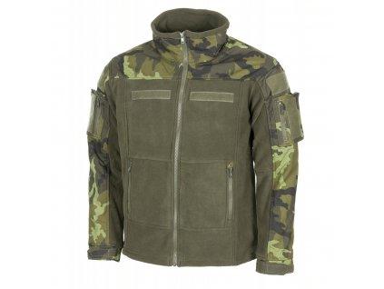 Bunda (mikina) Combat camo vz.95 fleece oliv MFH
