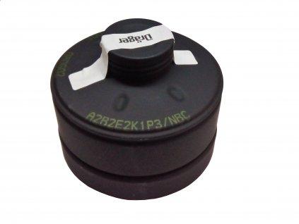 Filtr Dräger A2B2E2K1P3 NBC pro plynovou masku závit Rd40 NATO 40 x 1/7