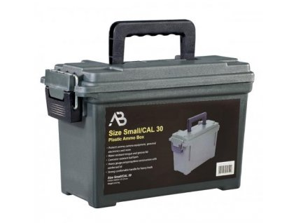 Box univerzální muniční bedna A.B. plastová Cal. 30 oliv
