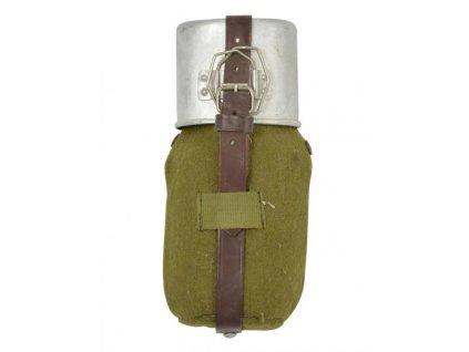 Polní láhev (čutora) s hrnkem Rumunsko originál