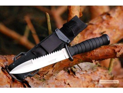 Taktický útočný nůž Kandar N-316 s pouzdrem