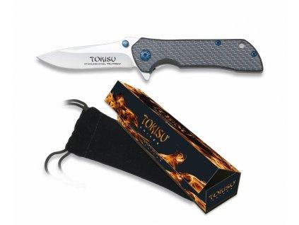 Zavírací nůž TOKISU Carbon fiber EDC 18595