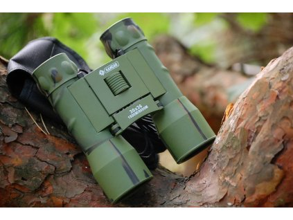 Dalekohled Kandar 30x36 Porro Prism Binoculars maskovaný woodland