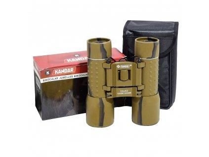 Dalekohled Kandar 32x42 Porro Prism Binoculars woodland khaki