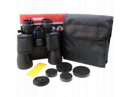 Dalekohled Kandar Porro Prism Binoculars 10x-50x50 Zoom