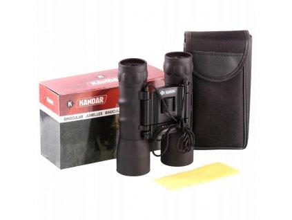 LORNETKA Dalekohled Kandar 22x32 Porro Prism Binoculars černýKANDAR 22x32 MYSLIWSKA KOMPAKT Powiekszenie 22