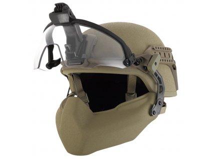 Balistické hledí na přilbu Virtus Batlskin Cobra Visor System Kit vel: Medium