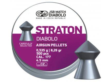 Diabolky JSB Straton 500 cal. 4,5 mm (.177) 8,26 gr