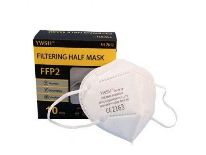 Ochranný respirátor KN95 FFP2 balení 10 kusů