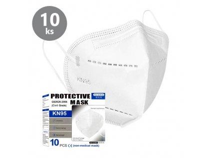 Ochranný respirátor KN95 Protective Mask balení 10 kusů