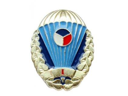Odznak pro výsadkáře Armády České republiky zlatý I. stupně originál