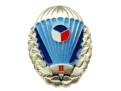 Odznak pro výsadkáře Armády České republiky zlatý II. stupně originál