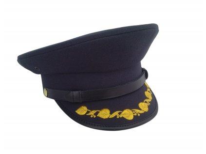 Brigadýrka s ratolestí generál AČR modrá vz.97 (vojenská čepice) originál