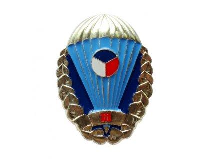 Odznak pro výsadkáře Armády České republiky zlatý III. stupně originál