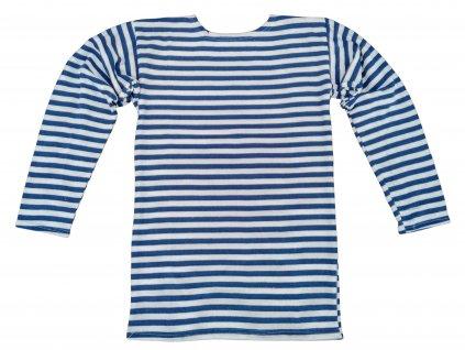 Tričko (triko) zimní ruské námořnické dlouhý rukáv světle modré originál
