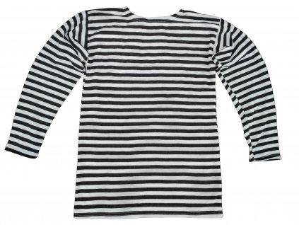 Tričko (triko) zimní ruské námořnické dlouhý rukáv černé originál