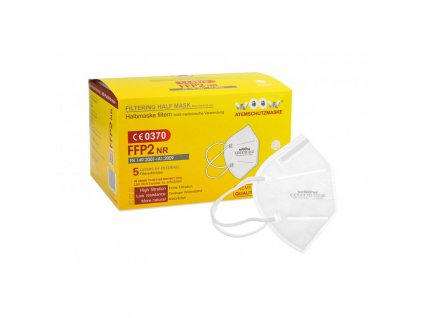 Ochranný respirátor Premium Woow FFP2 NR Half Mask