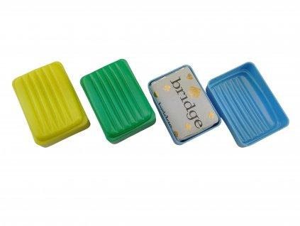 Krabička na mýdlo (mýdlenka) s mýdlem ČSLA AČR originál RETRO