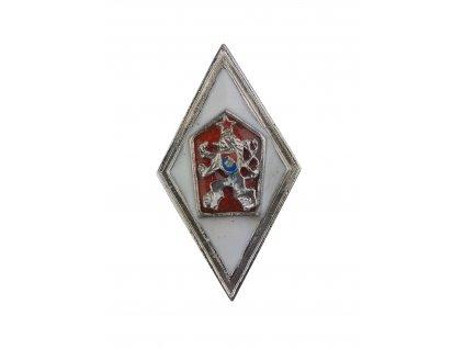 Odznak pro absolventy Vojenské vysoké školy ČSLA originál