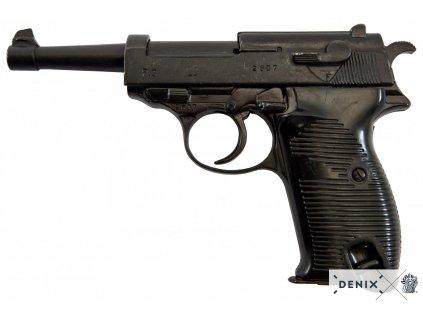 Pistole Walter P38  Německo 19388 WWII