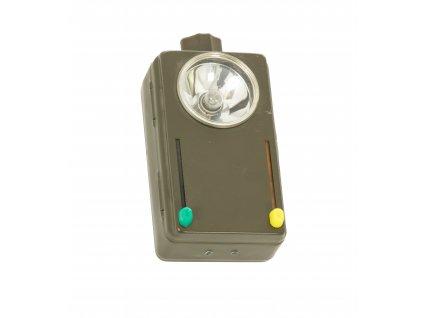 Baterka BW (svítilna) Wietek dvoubarevná originál Bundeswehr signální