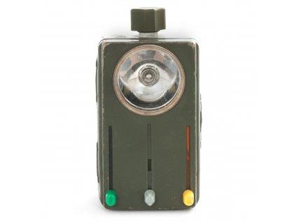 Baterka BW (svítilna) Wietek dvoubarevná se stínitkem originál Bundeswehr signální