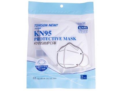 Ochranný respirátor Tomson KN95 (FFP2) 2 kusy