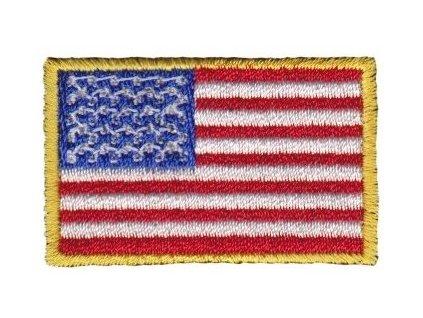 Nášivka vlajka USA malá