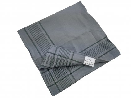 Vojenský kapesník šedý Holandsko 45 x 45cm originál
