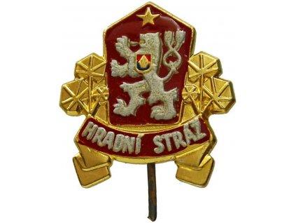 Odznak Hradní stráže rozlišovací originál