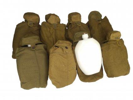 Plastová polní láhev (čutora) 1,5l s obalem Rusko Afghánistán originál