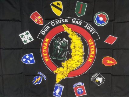 Vlajka 90x150cm Vietnam Veteran
