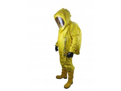 Protichemický přetlakový oděv OPCH – 90 PO ECOprotect pro hasiče a záchranáře