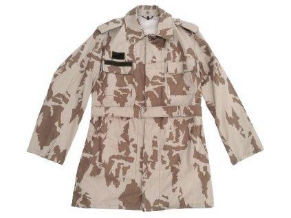 Kabát (kongo) letní vzor 85 desert béžový potisk originál