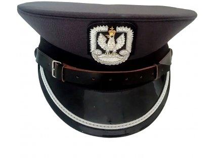 Čepice oficírská brigadýrka (mladší důstojník letectva) nová Polsko originál