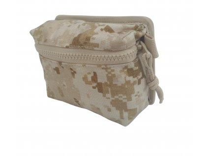 Přední kapsa USMC marpat desert k taktické vestě UNI k NPP-2006 (31051) SPM