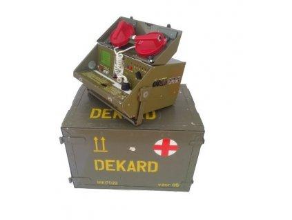 Defibrilátor DEKARD vz.85 ČSLA AČR Chirana v bedně originál