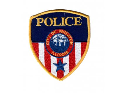 Nášivka US POLICE CITY OF WHEATON ILLINOIS