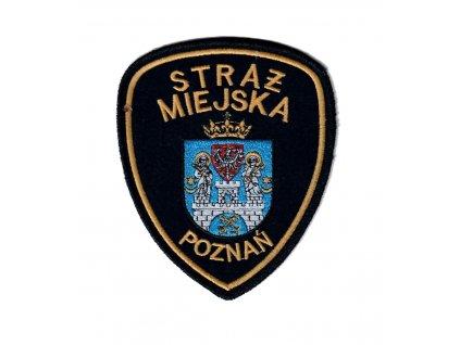 Nášivka městská policie Polsko STRAZ MIEJSKA POZNAŇ