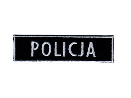 Nášivka policie Polsko POLICJA nápis