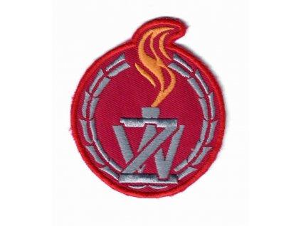 Nášivka vojenská policie Polsko Żandarmeria Wojskowa WP originál
