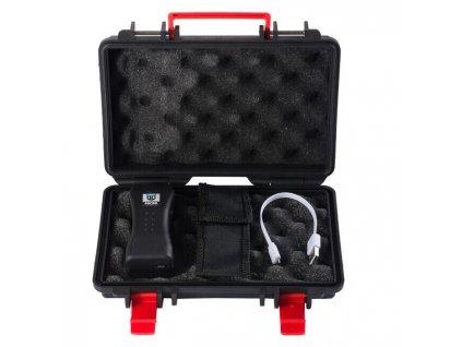 Paralyzér Beast Defense Micro 2500000V 2,5 milion Volts černý LED svítilna