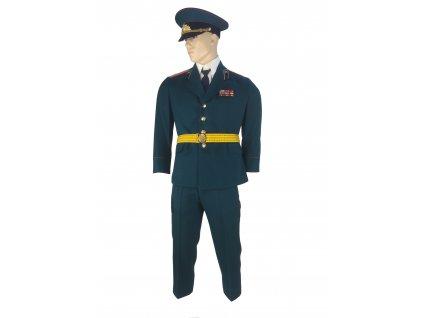 Vycházková uniforma důstojník Rusko (SSSR,Sovětský svaz) kompletní zelená originál
