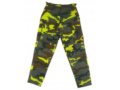 Kalhoty BDU Yellow camo ripstop žluté LOCKER