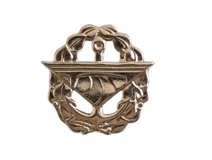 Odznak rozlišovací AČR silniční vojsko stříbrný originál