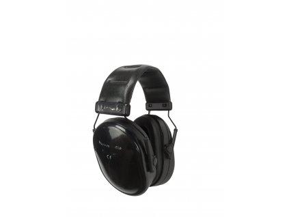 Střelecké chrániče sluchu Premium Muff Lo černé