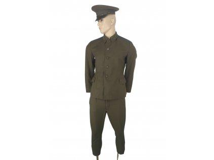 Vycházková uniforma Rusko (SSSR,Sovětský svaz) khaki modrý pruh originál