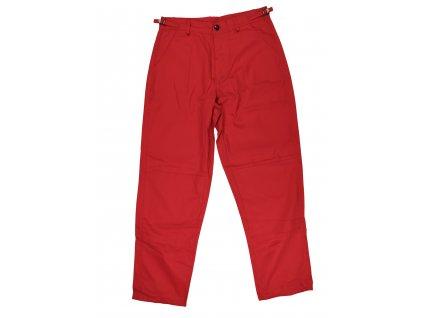 Kalhoty BDU záchranářské červené